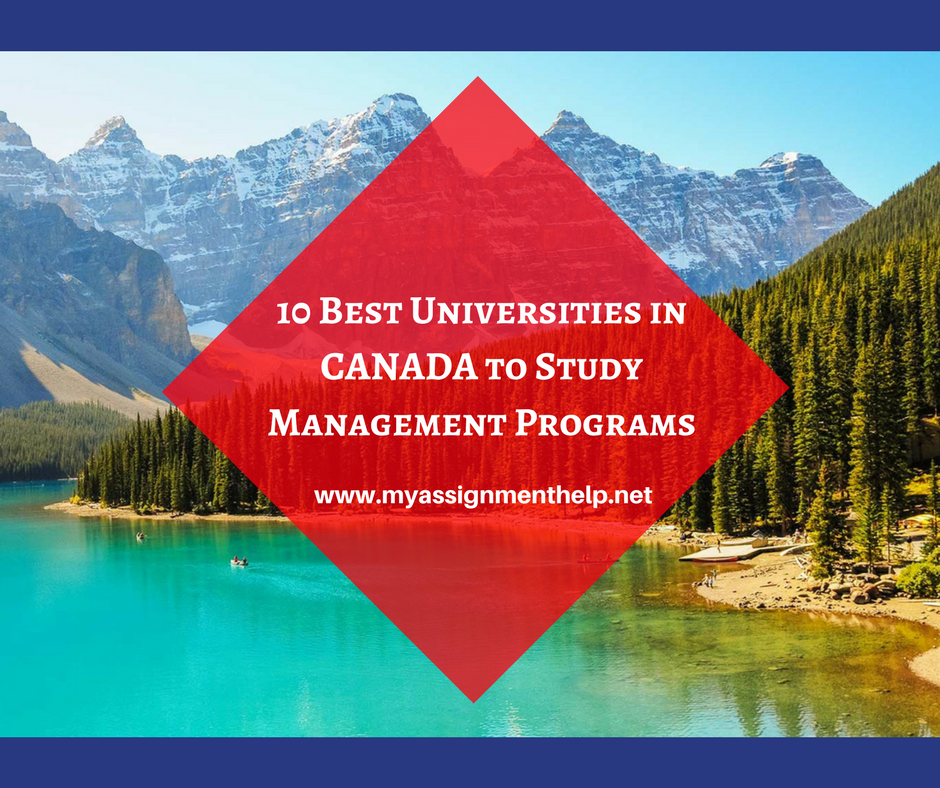 10 Best Universities in Canada to Study Management