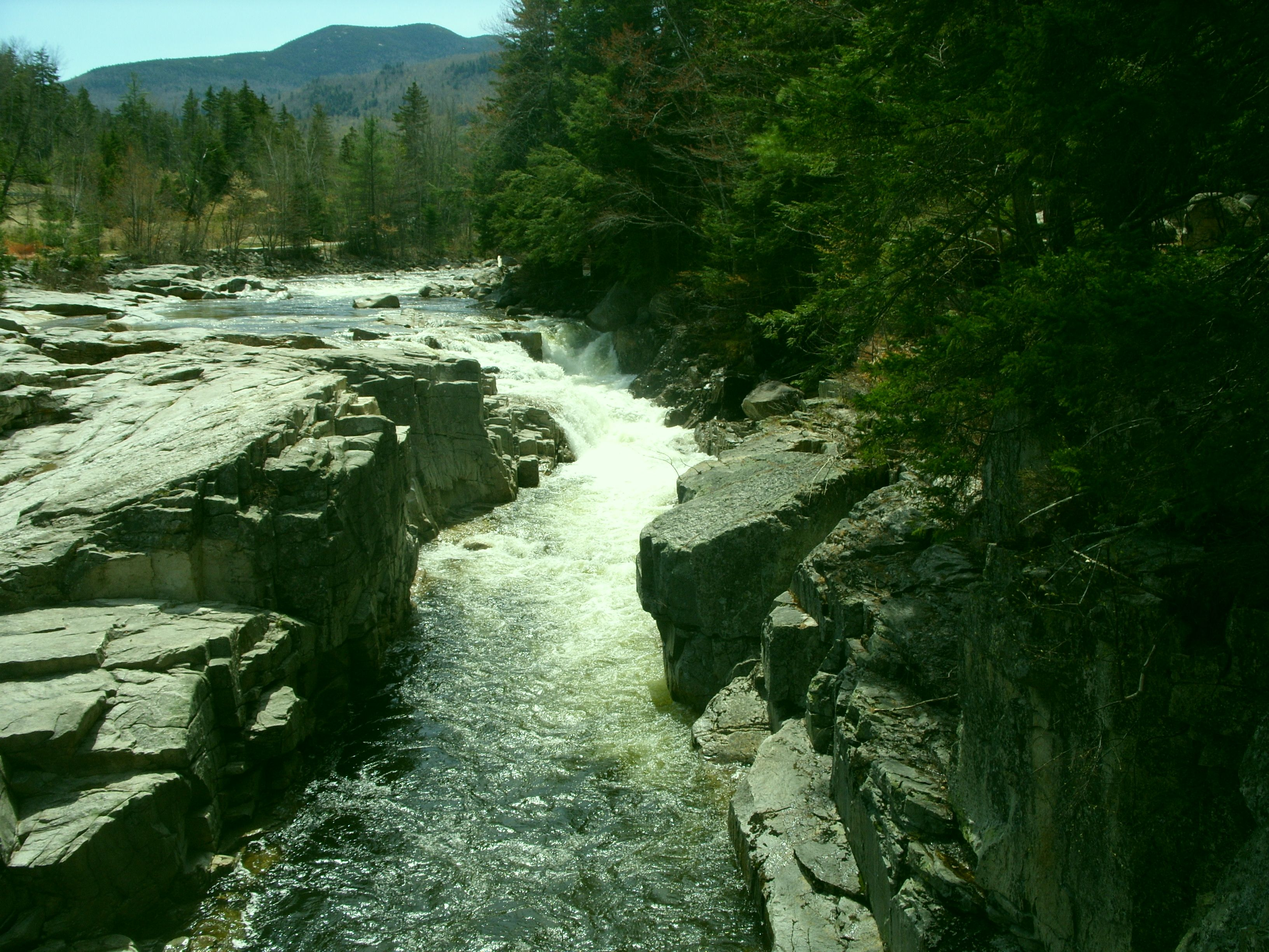 Rocky Gorge, along the Kancagamus Highway