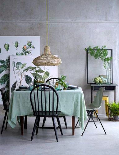 Inspirations déco avec du vert Salle à manger / Dining room