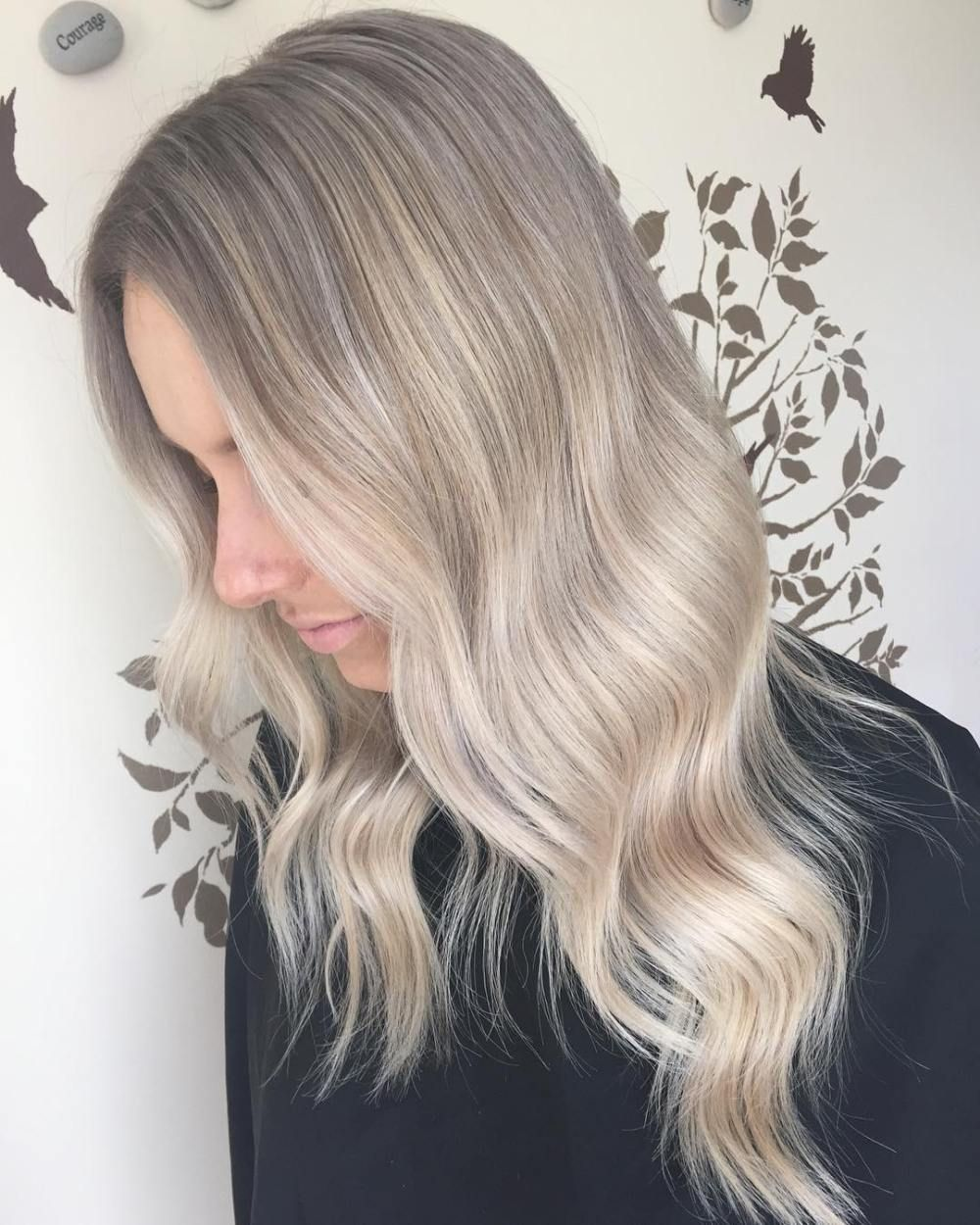 40 Ash Blonde Hair Looks You'll Swoon Over #ashblondebalayage