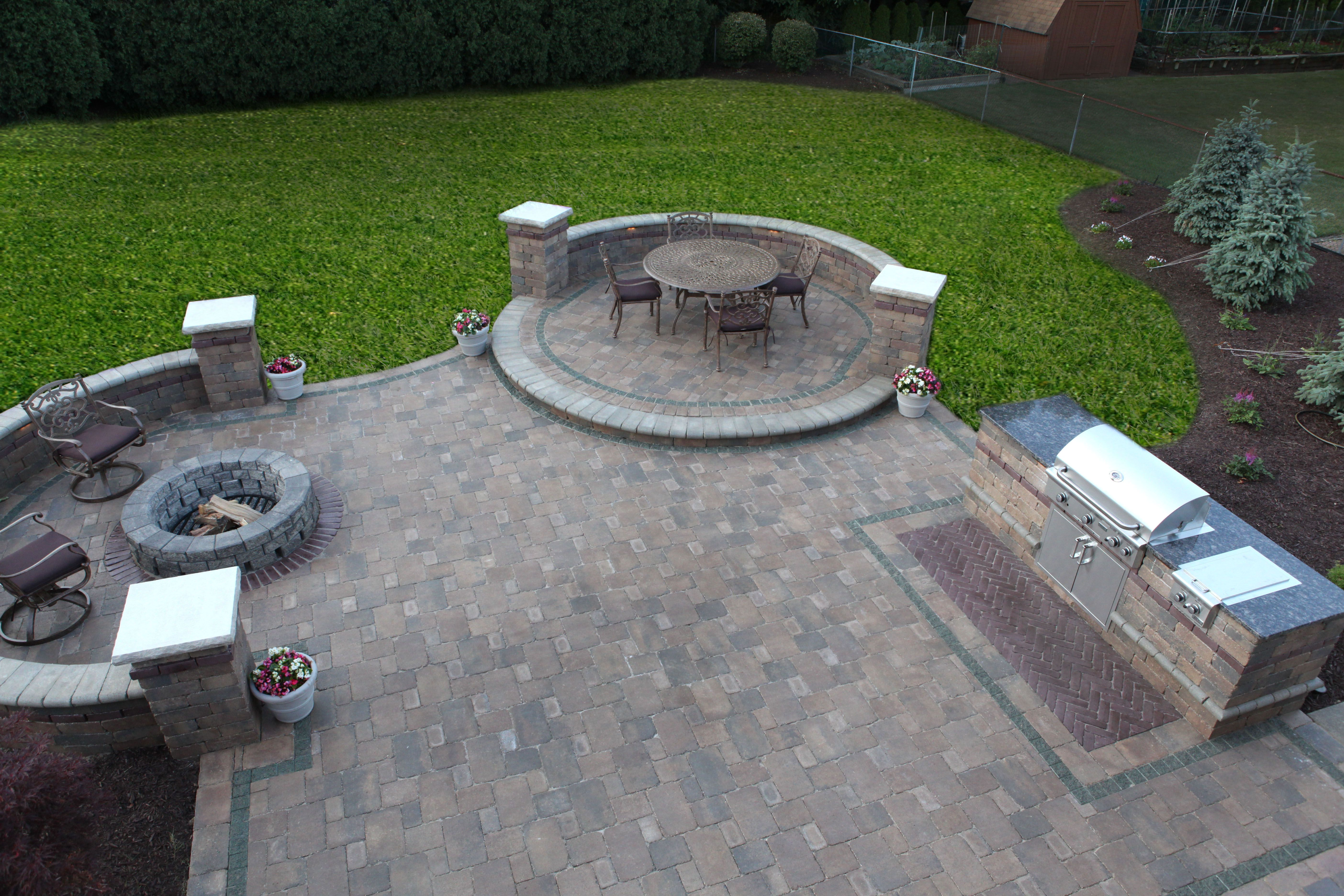grill patio ideas 20 amazing backyard ideas that wont break the bank page 17 of 20 - Outdoor Patios Ideas
