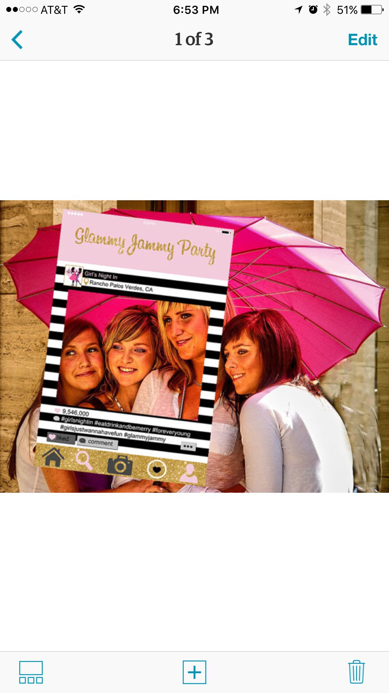 Perfect for your next girls night or bachelorette party ...
