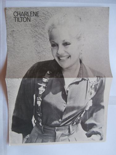 Charlene Tilton Gregory Harrison Poster Greek Magazines clippings 80s 90s | eBay