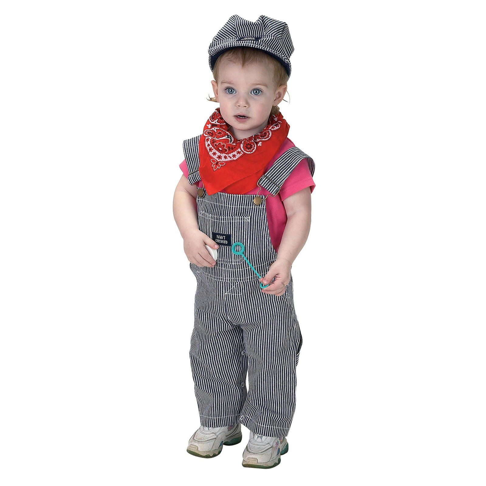 jr. train engineer suit infant / toddler costume | train conductor