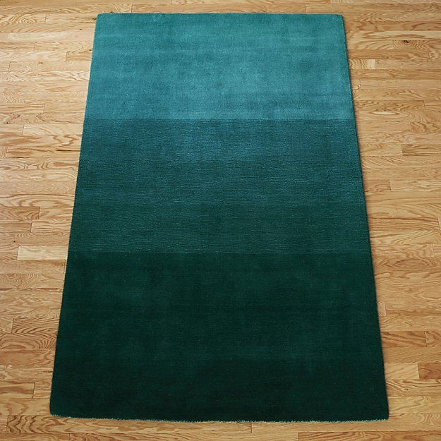 Ombre Teal Rug Prob Too Teal Teal Rug Rugs Unique Area Rugs