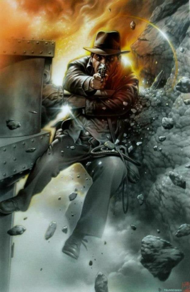 Indiana Jones by Tsuneo Sanda *