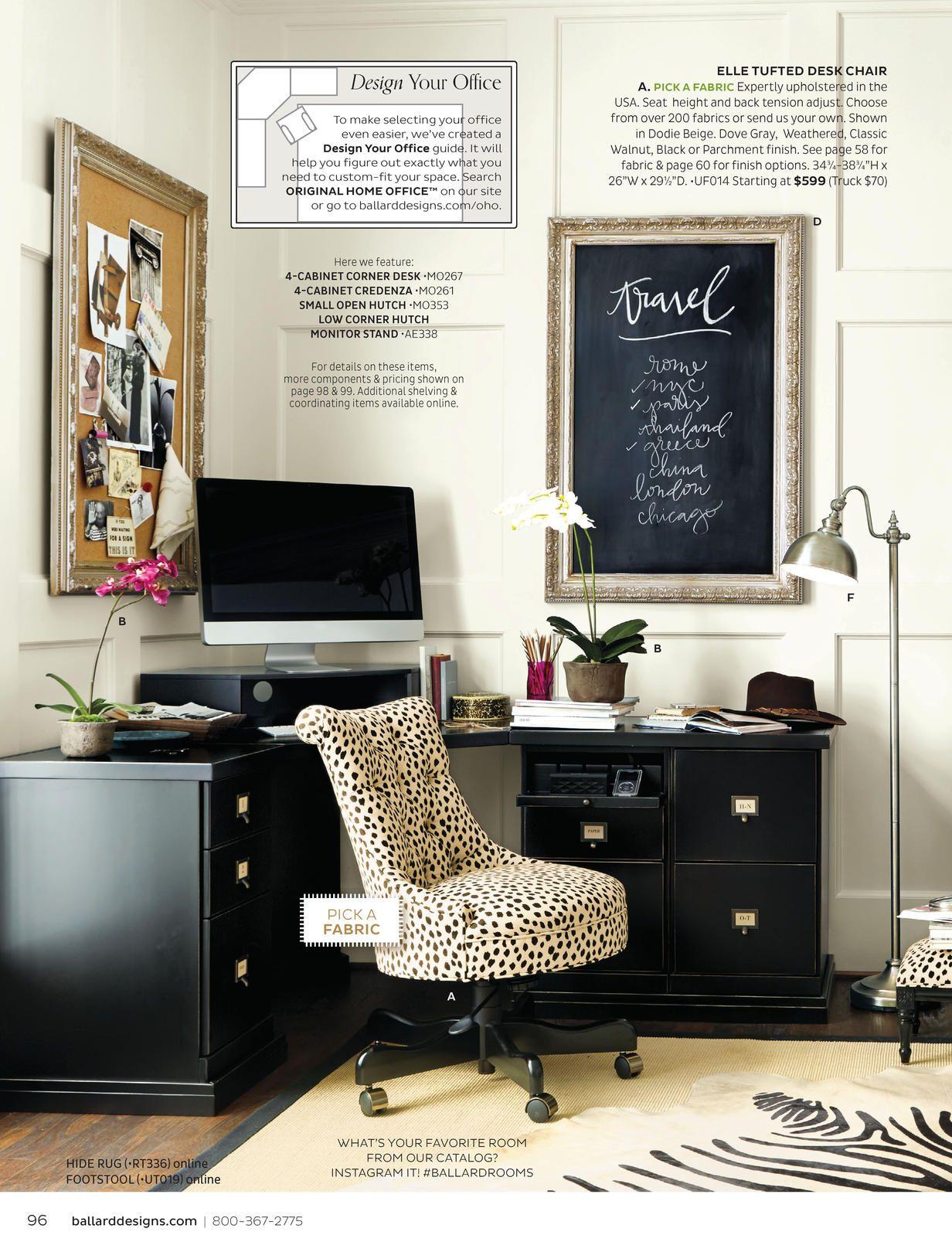 Ballard Designs Love This Office