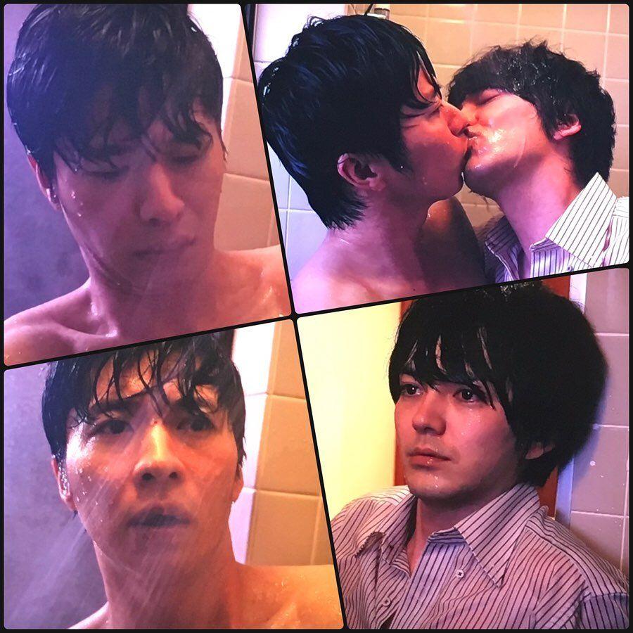 画像に含まれている可能性があるもの 1人以上 子供 おっさんずラブ キス おっさんずラブ 田中 圭