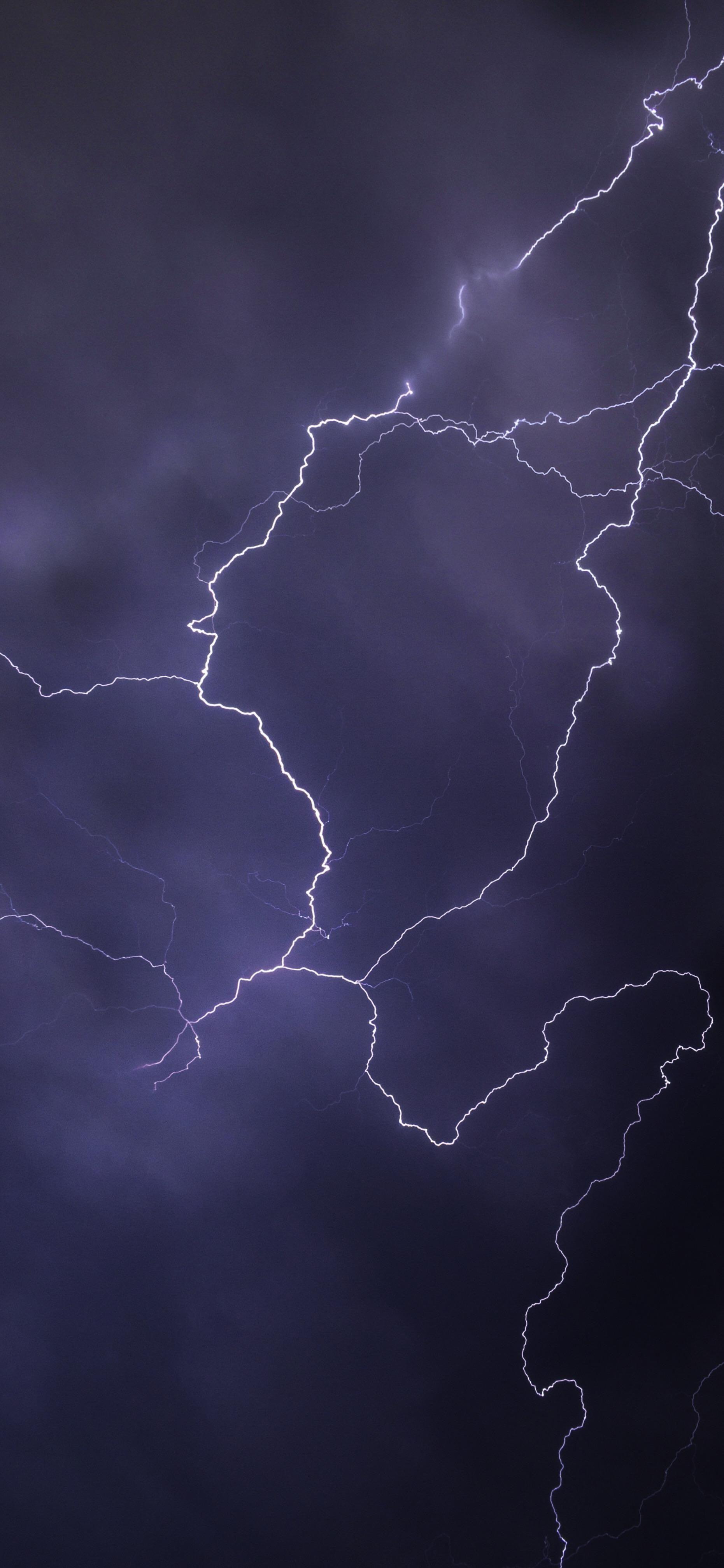 Lightning Strike Wallpaper For Iphone Oboi