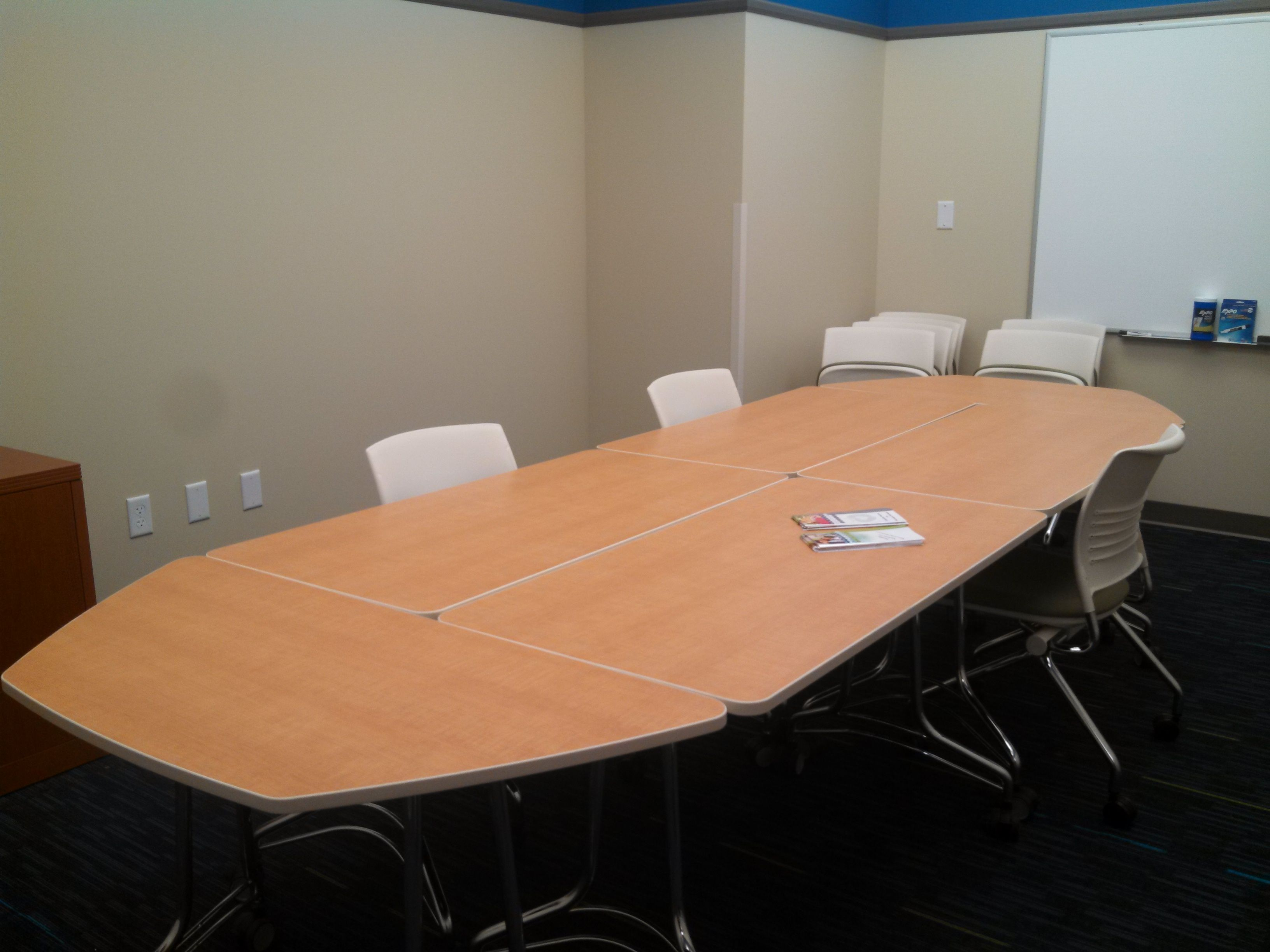 Enlite Tables Rectangular And Two Hexagon Make Up This - Hexagon conference table