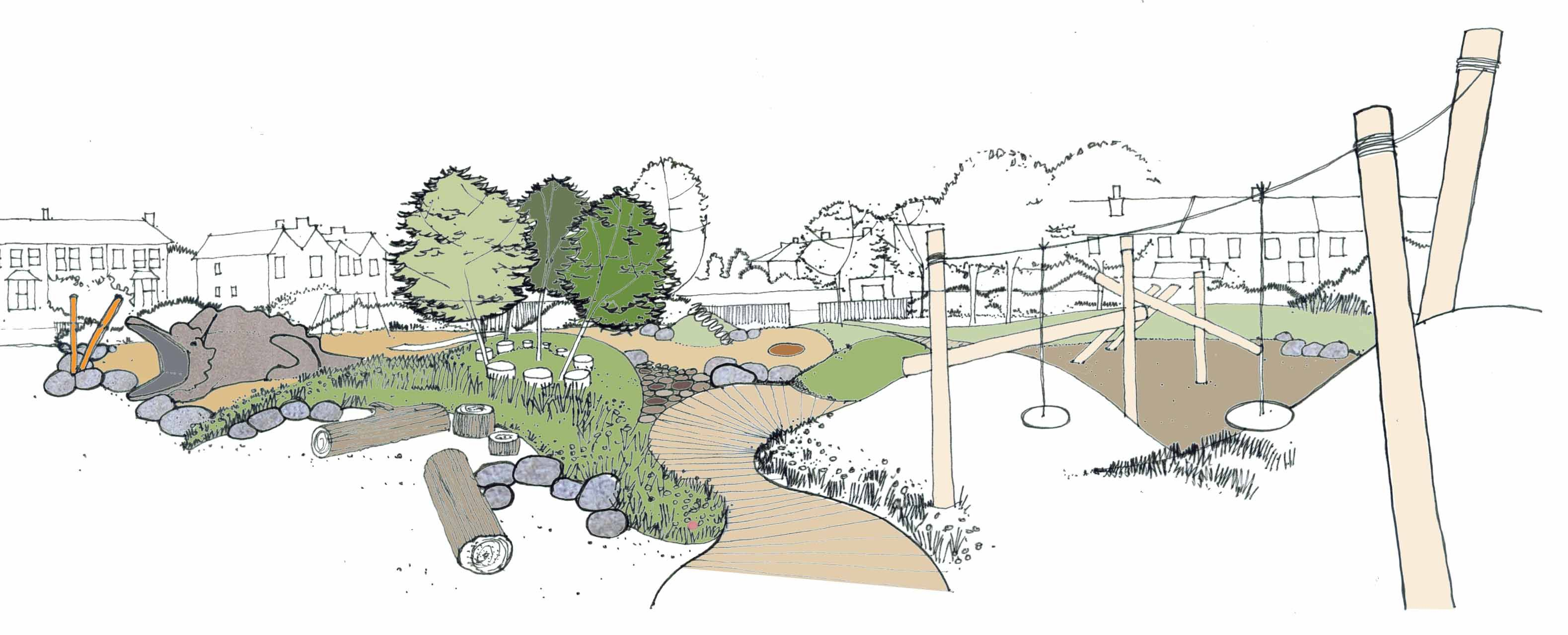 Davies white landscape architects kingston surrey for Davies landscape architects