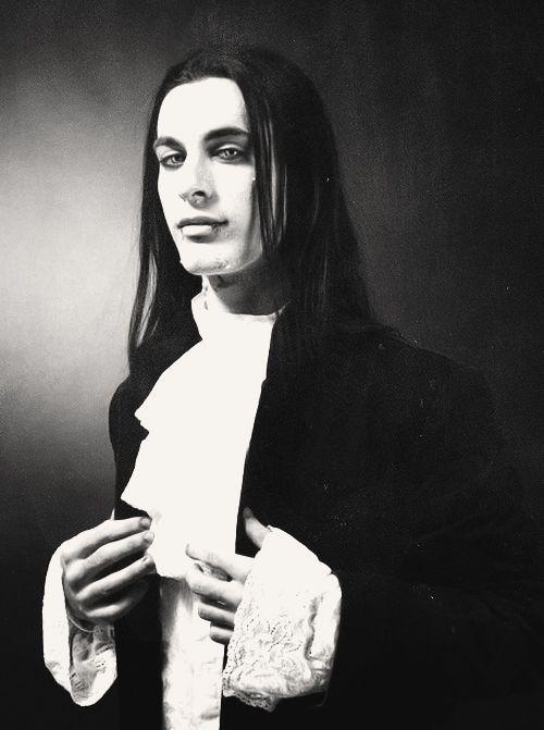 Vampire Romantic Goth Guy