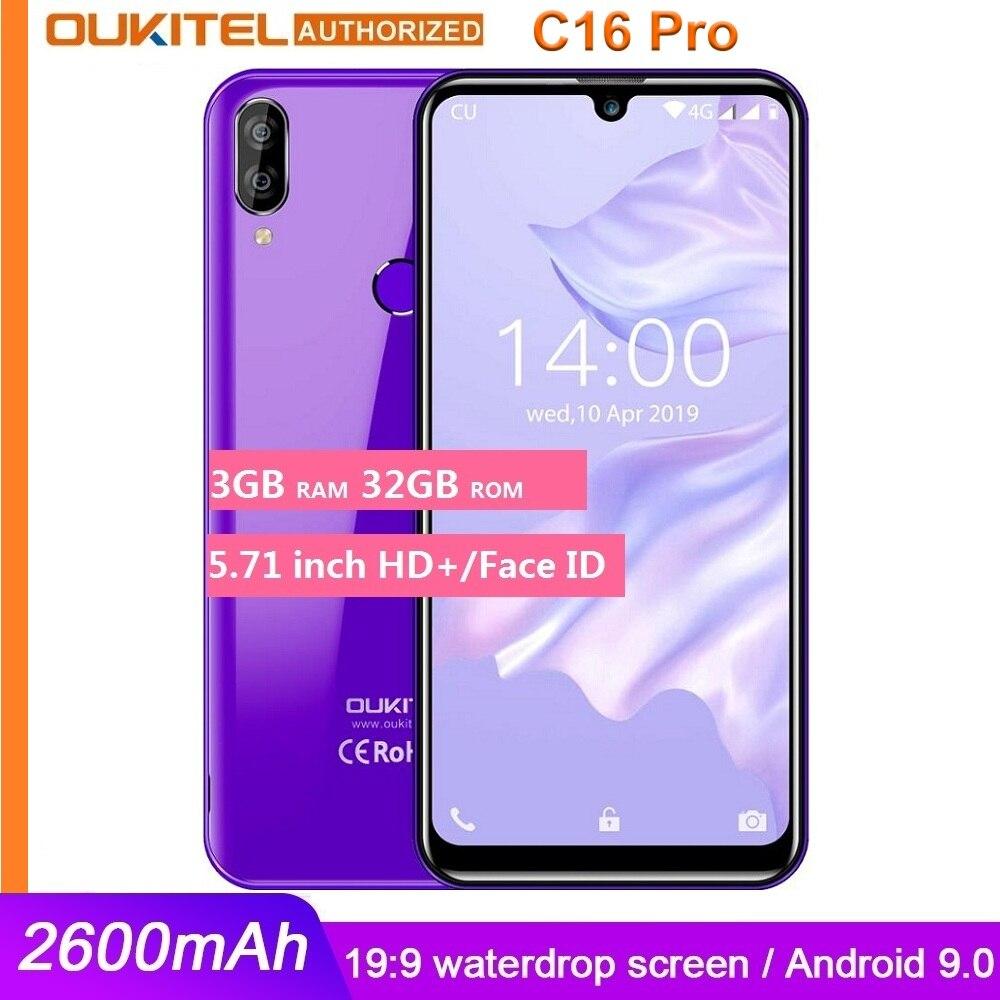 OUKITEL C16 PRO 5.71'' HD+ Waterdrop Big Screen 4G Smartphone MT6761P Quad Core Deals - PhoneSep.com
