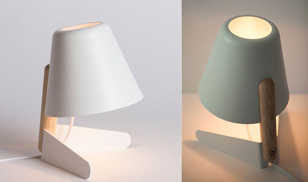 Minimal form maximum style yanko design lamp & plant