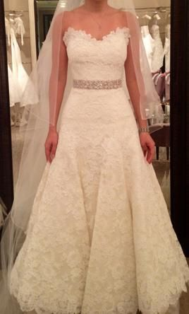 Vera Wang Jessica Simpson Dress, $3,400 Size: 2 | Sample Wedding ...