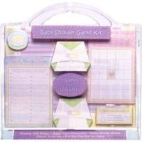 BABY SHOWER COMPLETE GAME KIT - 5 GAMES - NEW IN A PACK