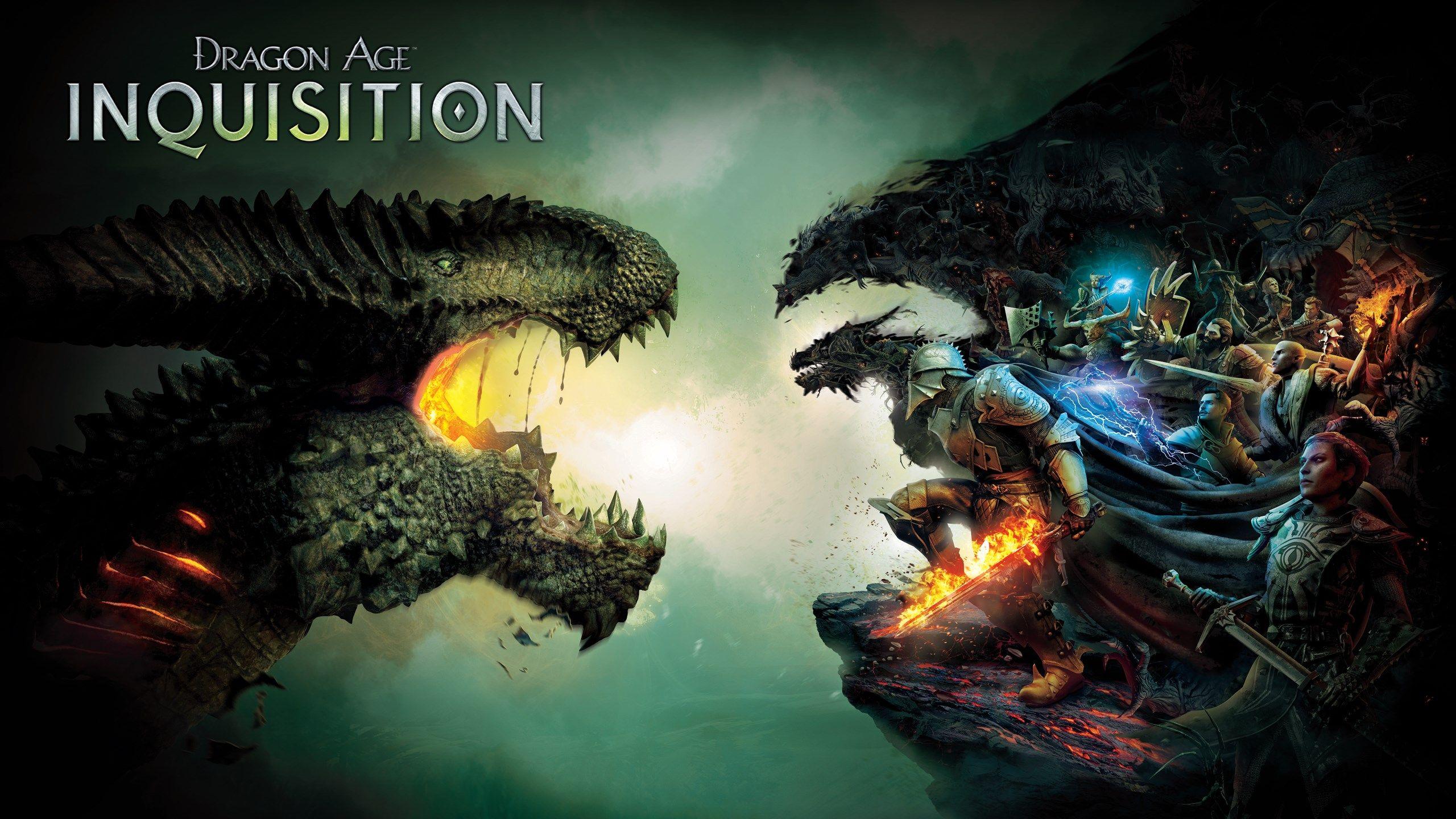 2560x1440 Dragon Age Inquisition Game Wallpaper Dragon Age Inquisition Dragon Age Games Dragon Age