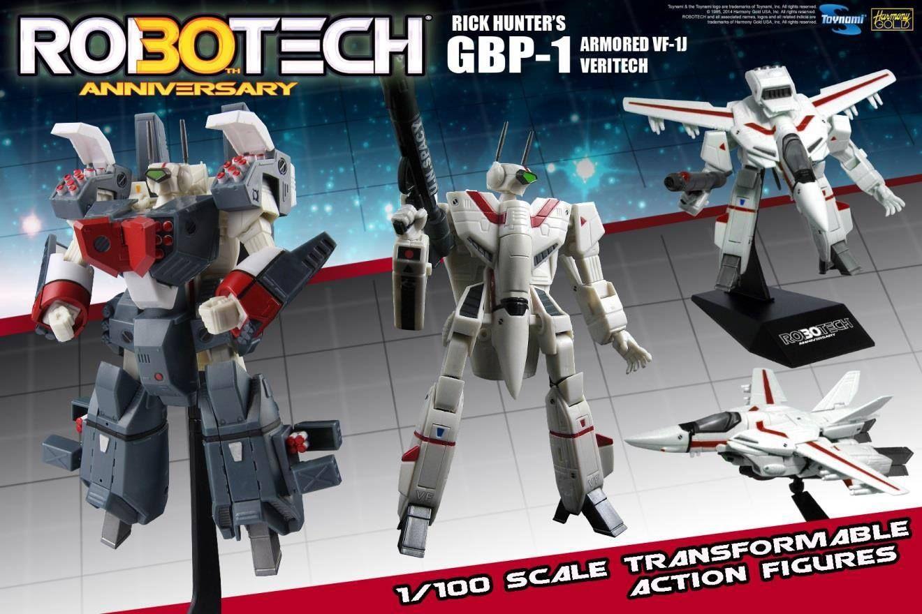 Macross Robotech Max VF-1J GBP-1 Heavy Armored Veritech 1//100 Transformable New