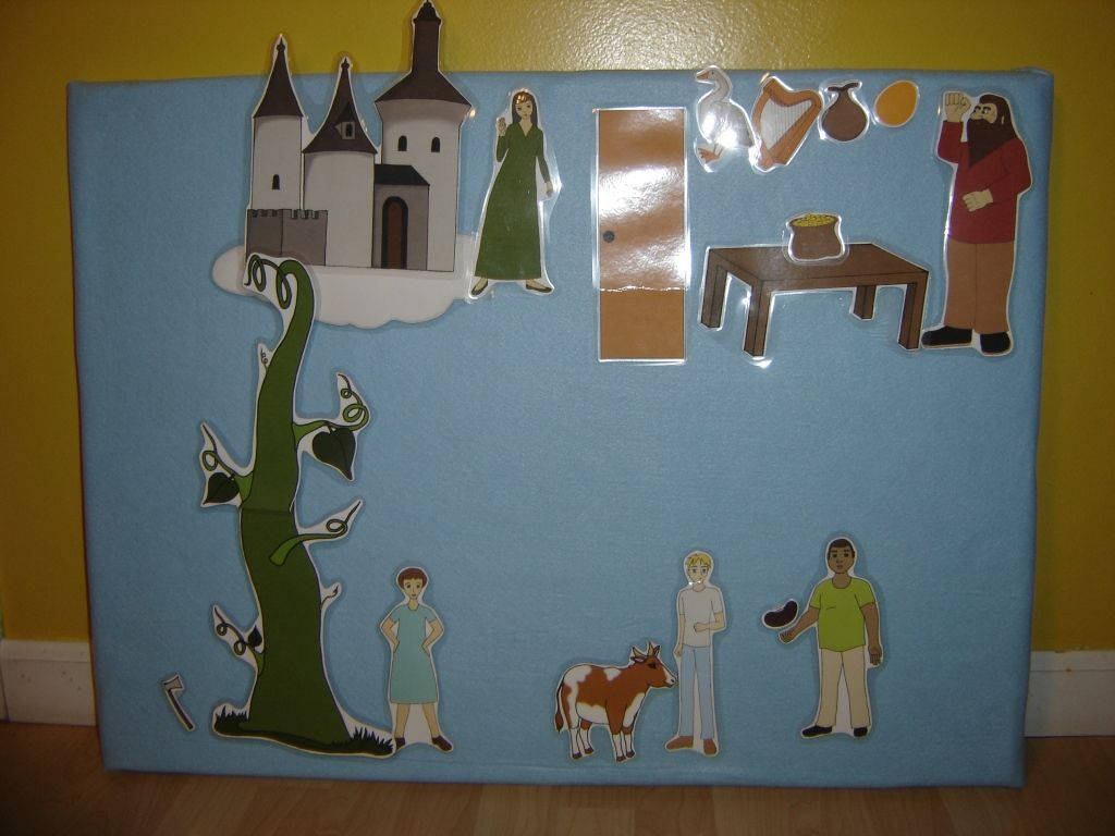 Jack And The Beanstalk Unit Study With Free Puppet
