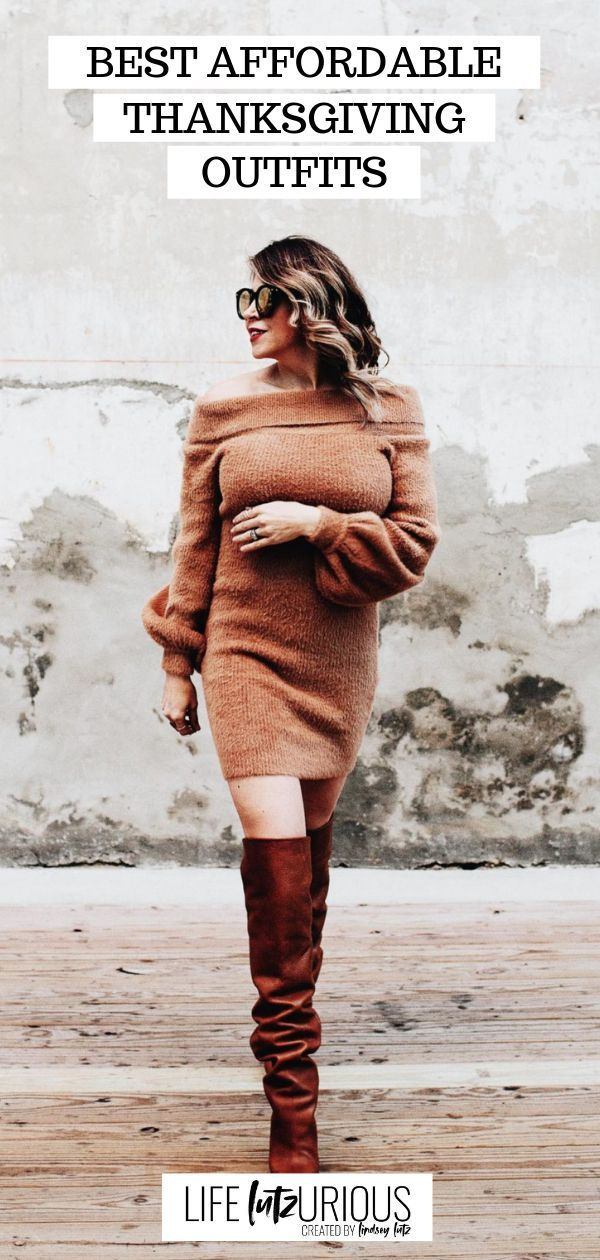 Best Affordable Thanksgiving Outfits | Holiday Outfit Inspiration