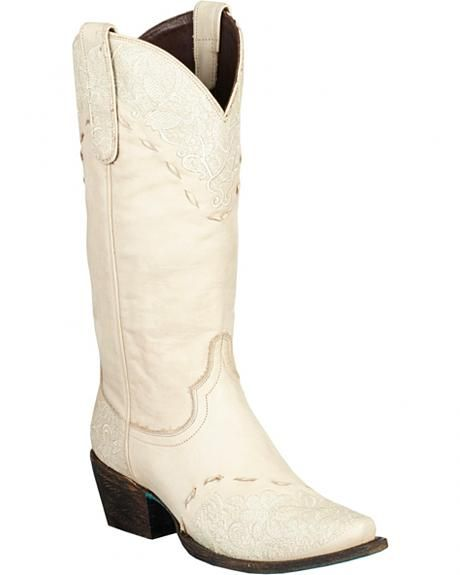 9b5ded43447 Lane Jeni Lace Embroidered Cowgirl Boots - Snip Toe | Wedding Ideas ...