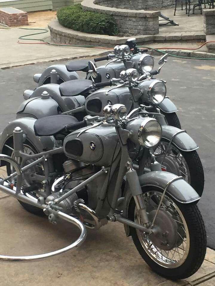 Grey R50s Bmw Vintage Bmw Motorcycle Vintage Bmw Motorcycles
