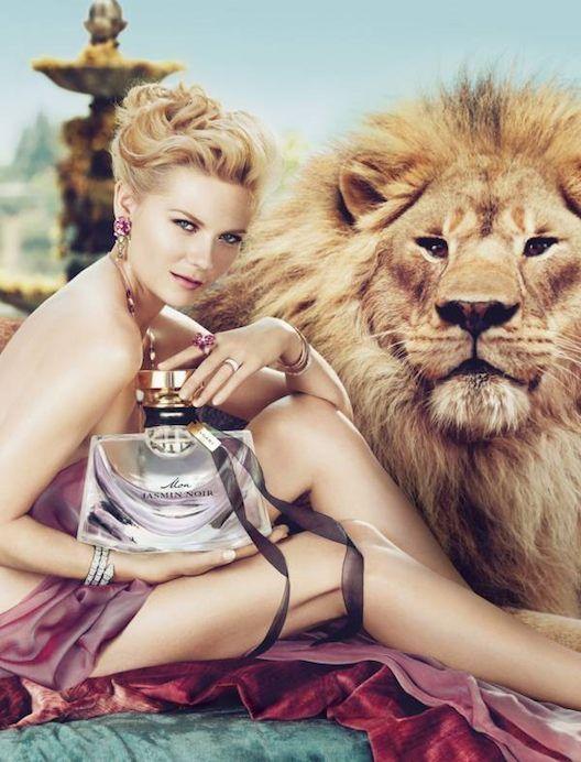 Kirsten Dunst bares it all for Bulgari's Mon Jasmin Noir Fragrance