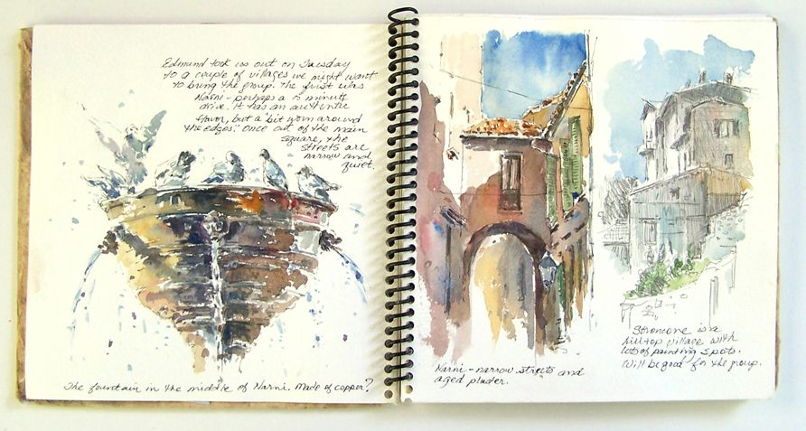 The Joy Of Sketching Sketches Travel Sketches Watercolor Sketchbook