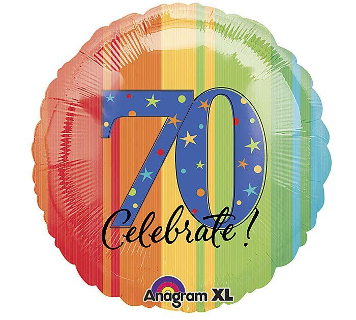 Celebrate 70 18 Balloon From Burton BURTON