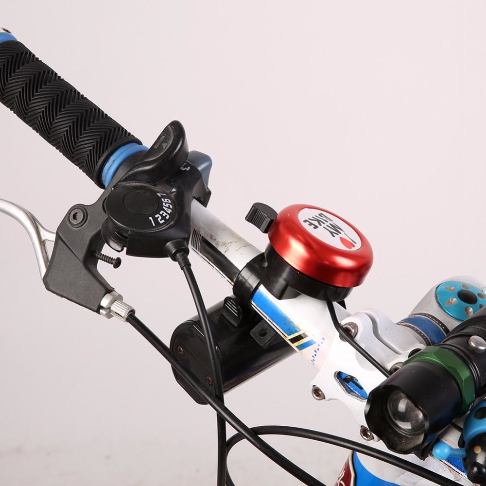 Bicycle Bell Clear Sound Bike Horn Alarm Warning Bell Ring Bike