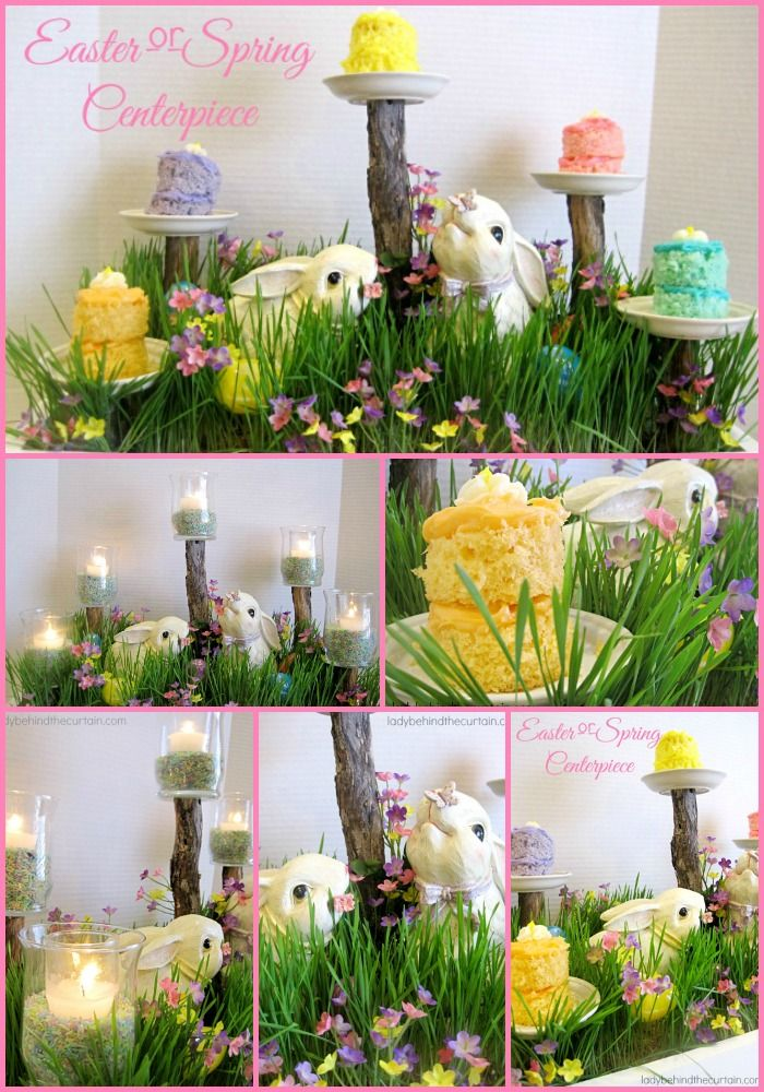 Easter Centerpieces Part - 41: Easter Centerpiece: I Love The Versatility Of This Centerpiece. Just Take  Out The Bunnies