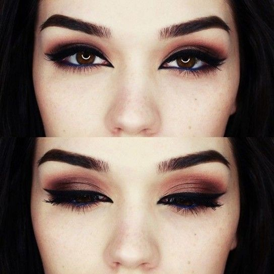 Favoloso trucco occhi marroni - Cerca con Google | trucco | Pinterest  AG26