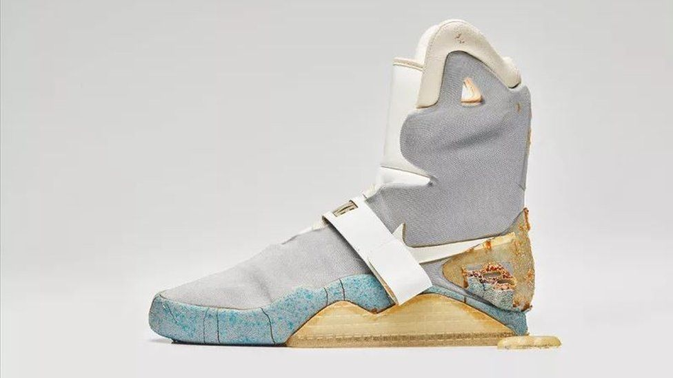 Back to the Future shoe sells for nearly $100k | Nike mag