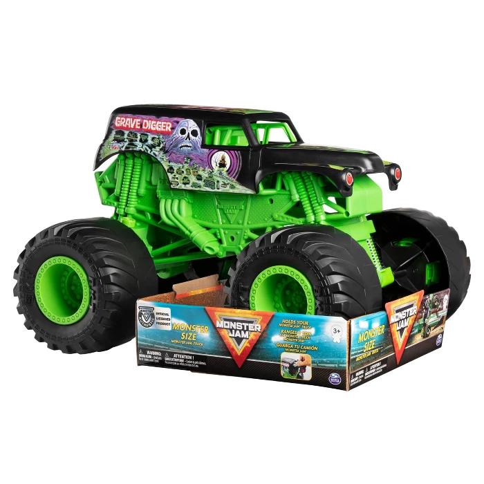Monster Jam Monster Size Grave Digger Monster Jam Truck 1 10 Scale Target Monster Trucks Monster Truck Toys Monster Jam