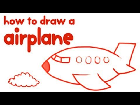 How to draw an airplane step by step guide
