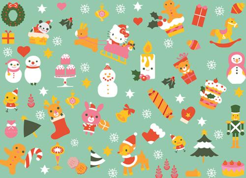 Hello Kitty Holiday Wallpaper | - 223.5KB