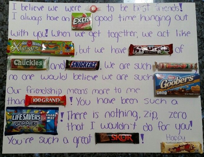 Creative Present For Your Best Friend