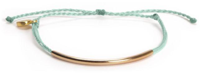 Pure Vida Bar Teal Bracelet