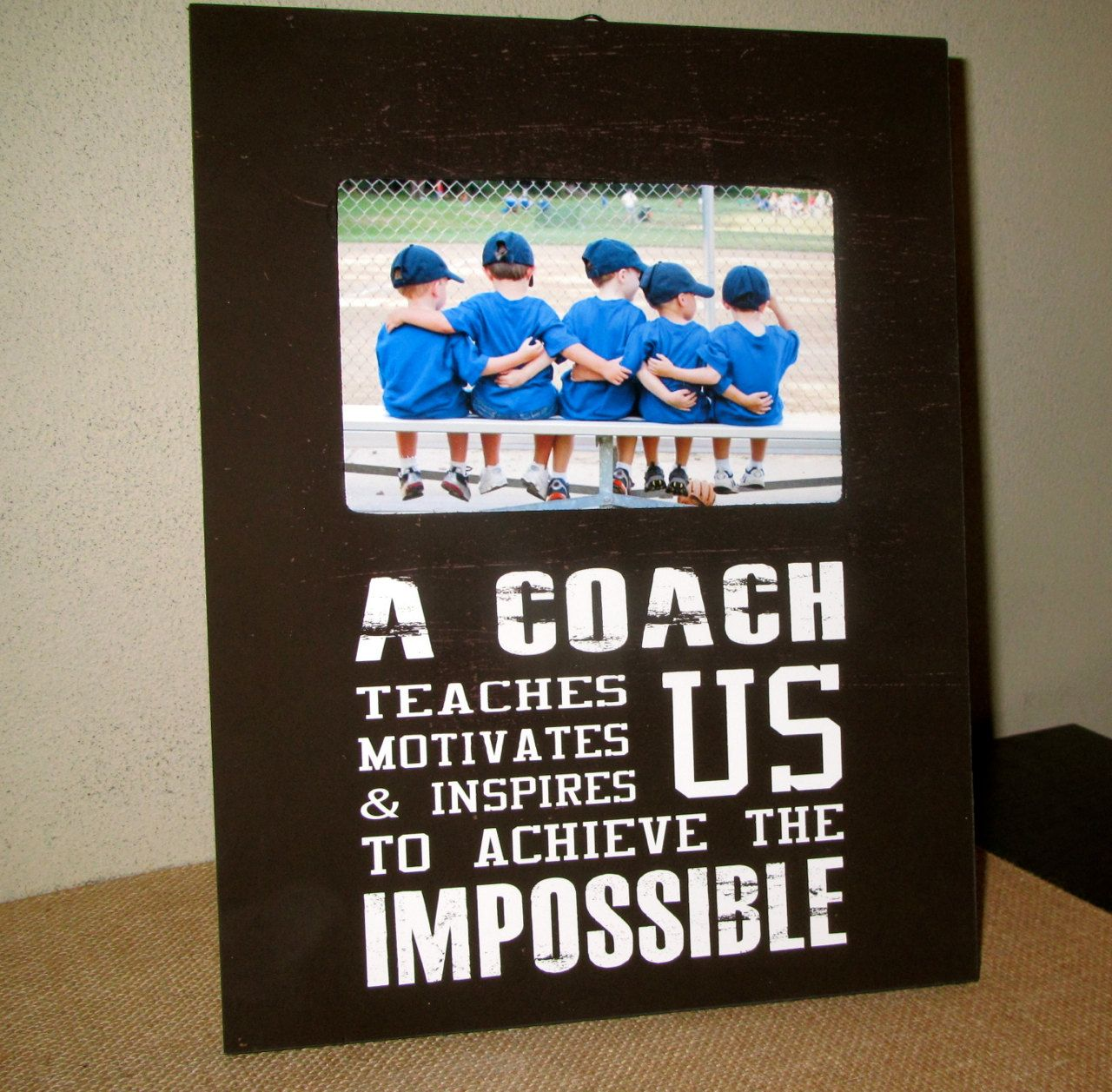 Coach gift coach frame sports team picture frame for coach a coach gift coach frame sports team picture frame for coach a jeuxipadfo Gallery