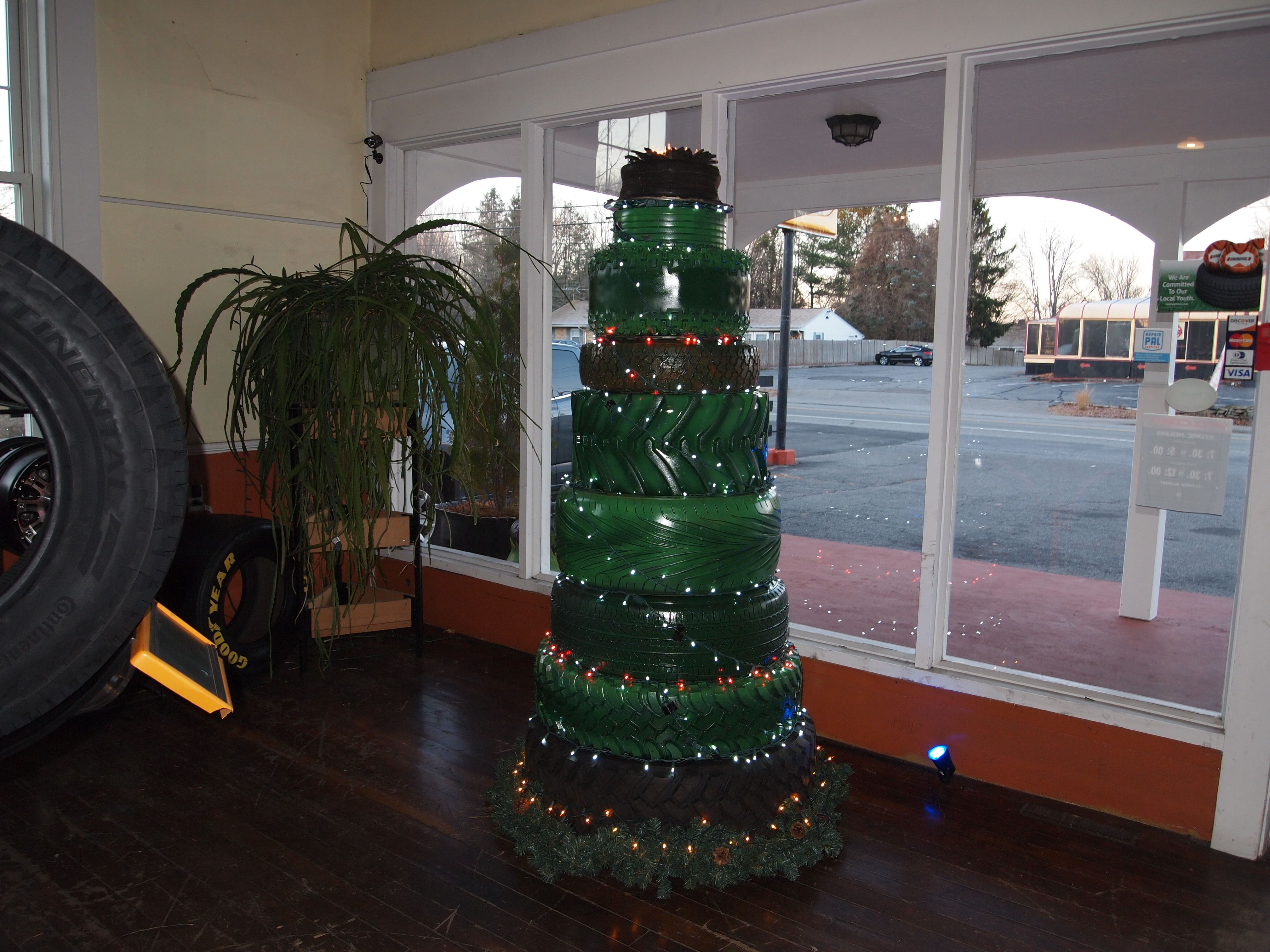 Pin By Kenwood Tire & Auto Service On Tire Christmas Trees