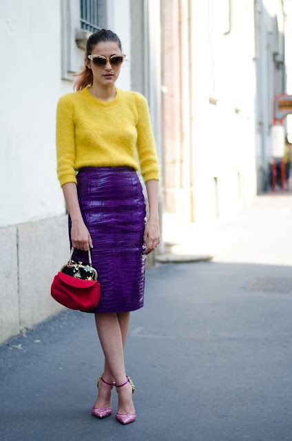 How to Mix and Colorful Match Separates rare photo