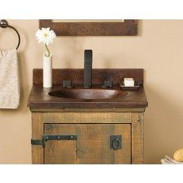 24 Sedona Vanity Top W Integral Basin In Antique For Sale Bathroom Vanity Farmhouse Bathroom Sink Bathroom Sink Vanity