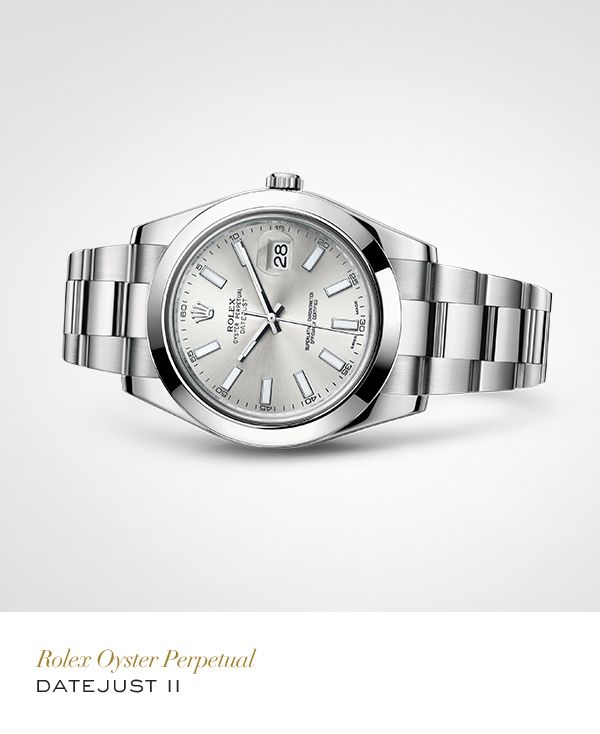 7f9d017ee04 Rolex Datejust II 41 mm in 904L steel with a smooth bezel