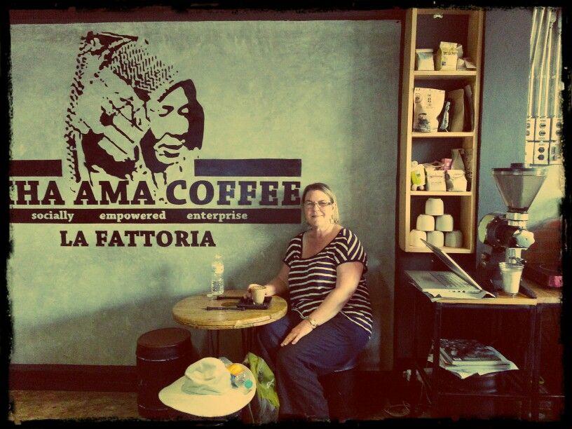 Me in Akha Ama Coffee Cafe Chiang Mai 19 Sep 2014.