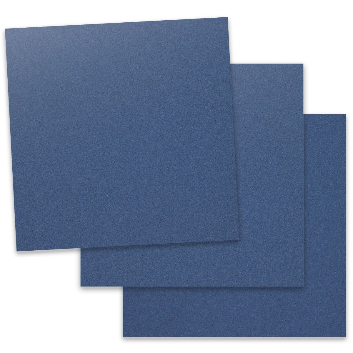 Curious Metallic Electric Blue 12 X 12 Cardstock Paper 300 Gsm