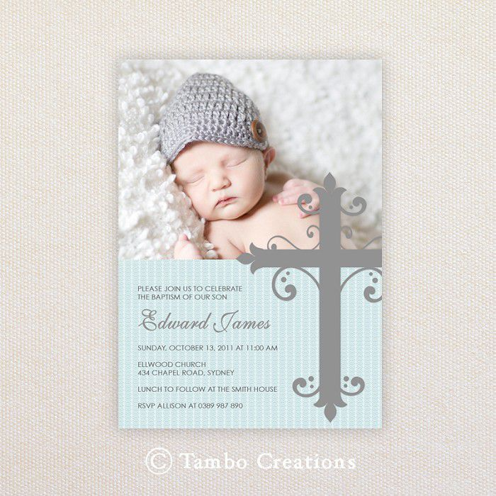 The Marvellous Baptism Invitation Wording Photograph Below Is Other