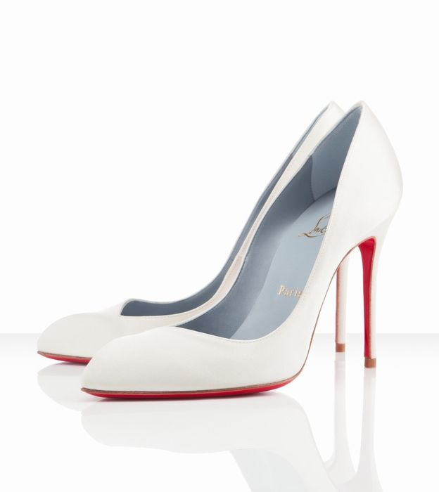 Christian Louboutin Corneille 100mm Off White