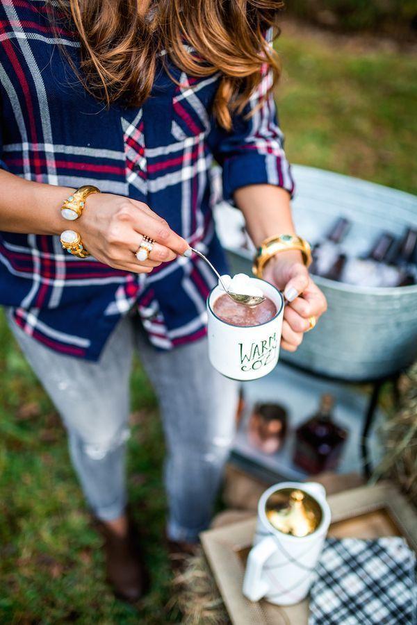 How To Host A Friendsgiving Bonfire - Haute Off The Rack