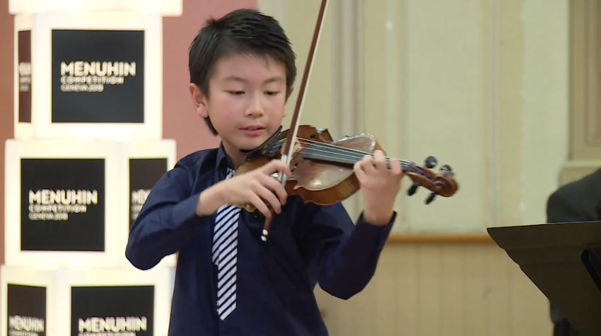 Christian Li Plays Ludwig Van Beethoven Astor Piazzolla Henryk Wieniawski Menuhin Competition 2018 Junior Semi Final Hd 1080p