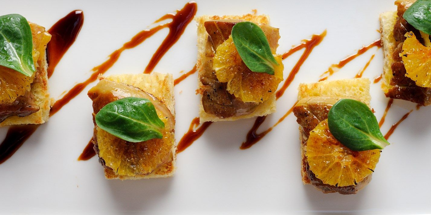Seared Foie Gras On Toasted Brioche With Caramelised Orange Recipe Foie Gras Orange Recipes Appetizers For Party